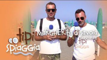 Tipi Da Spiaggia. Margherita Di Savoia. Con Giovanni E Mirko. La Tua Tv: La Web Tv Di Tutti